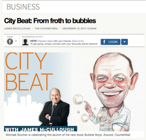 City Beat with James McCullough: From froth to bubbles